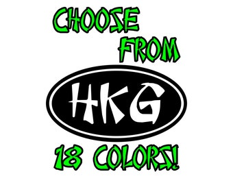 Hong Kong HKG Airport Car Decal Laptop Sticker Luggage Decals