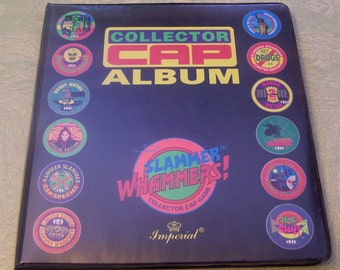 Collector Cap Album pog milk cap Slammer Whammers game Imperial