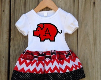 Arkansas Razorbacks Toddler Gameday Dress