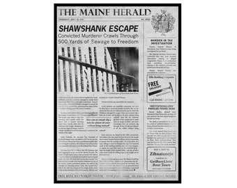 The Shawshank Redemption: The Maine Herald Poster