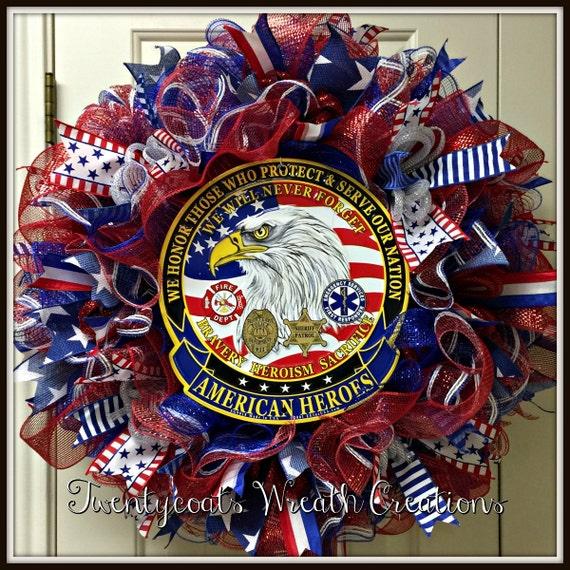First Responders Memorial Wreath