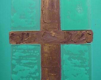 Abstarct Cruzifix Painting