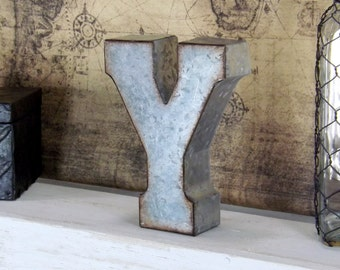 Standing Metal Letters Mesmerizing Large Metal Letters Shabby Chic Decor Boho Letters Tall Inspiration Design