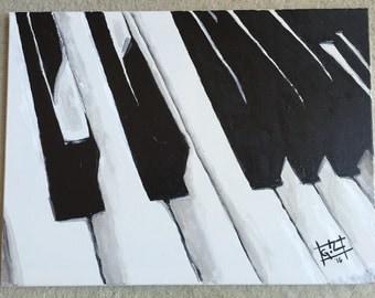 Keys - 16 x 20 acrylic