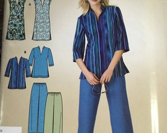NEW UNCUT so cute and EZ pattern for dress, tunic and slacks size 10 - 18