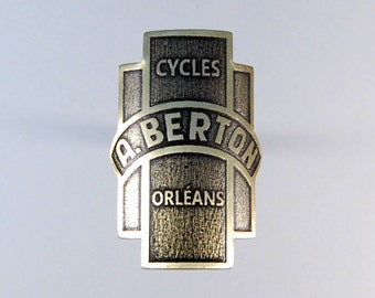 Custom headbadge for bicycles. Made to order.