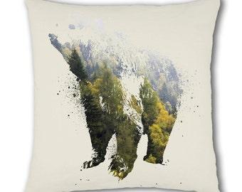 Nature Bear Design Cushion Cover (C780)