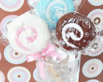Lollipop Towel Favors