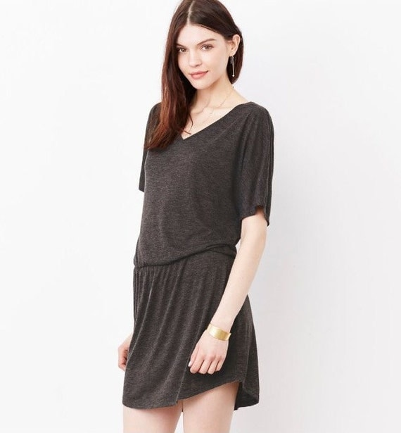 Jcubedk - LOVE Flowy Dress Jumpsuit Womenu0026#39;s Romper Flowy Vneck Dress