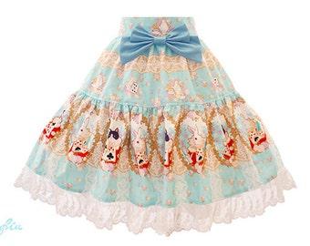 S059 Closet in Wonderland Tiered Skirt