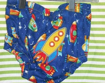 Rocket Butt Diaper Cover