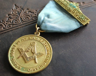 50 Year Masonic Medal  1905 to 1955