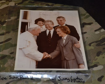 Jimmy carter Authentic photos