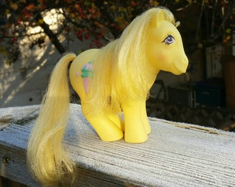 Reserved My Little Pony toy Swirly Whirly G1 custom bait