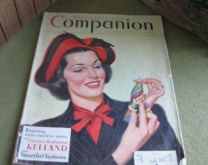 Vintage Companion The American Magazine October 1939