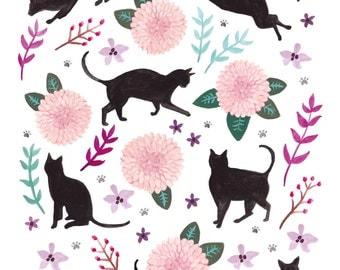 Art Print, Cats