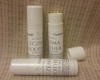Eczema Soother Lotion Bar /  0.5 oz twist tube/ All Natural