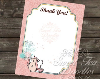 Coordinating Thank you Card