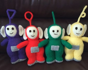 Teletubbies Knitting Pattern : Teletubbies Etsy