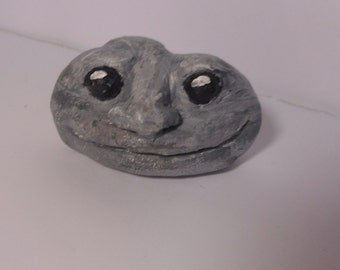 fake stone paperweight-little people-