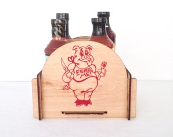 BBQ Caddy - Great Gift for the BBQ Lover in Your Life
