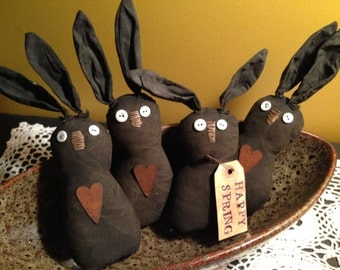 Primitive Made To Order Easter Bunny bowl fillers