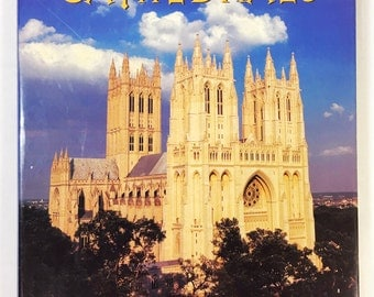 Cathedrals by Robin S Oggins, Vintage Coffee Table Book, Great Cathedrals History and Pictorial