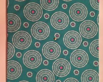 Decorative Cork Board 12x 12 blue polka dot