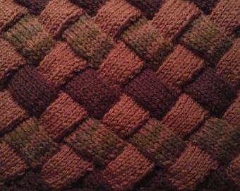 custom enterlac knit cowl made to order