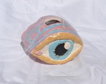 eye coin bank