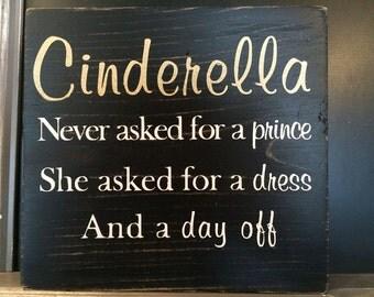Cinderella Sign