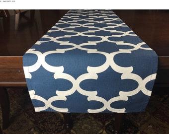 SALE! -  Navy Table Runner - Table Runner - Navy Kitchen Table Runner - Kitchen Table Runner - Table Runner