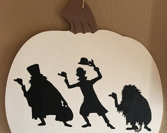 Haunted Mansion Decorative Pumpkin