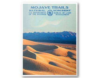 Mojave Trails National Monument Poster