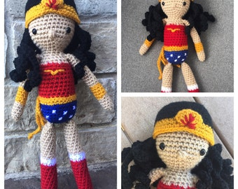 Wonder Woman Doll (Made To Order)