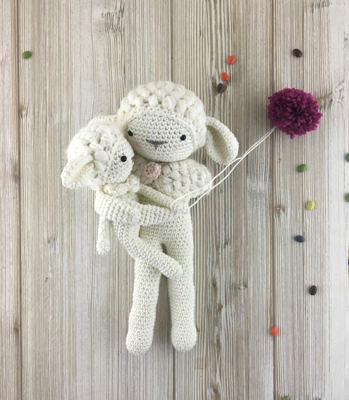 Etsy Amigurumi Sheep : Sheep crochet Amigurumi lamb MADE to ORDER crochet