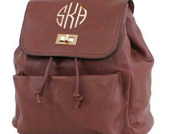 Brown Fashion Backpack with FREE Monogramming
