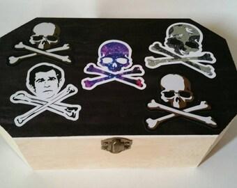 Skulls and Bush Stash Box
