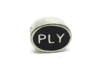Plymouth Bead, PLY, Plymouth Jewelry, Plymouth Charm, Plymouth Gift, Plymouth Bracelet