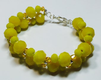 Yellow Pop-of-color Bracelet