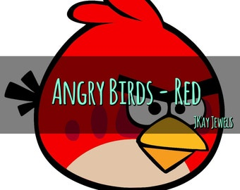 Angry Birds Red Silhouette SVG File For Die Cut Vinyl Machines and Crafts