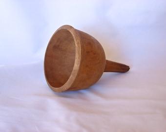 Wooden Funnel Antique