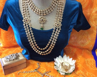 8 Pc Antique Look Bridal jewelry Set