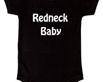 Baby Applique Bodysuit, Funny One Piecec, Redneck bodysuit, Baby Clothes