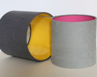 Drum lampshade Mix and Match/ceiling lampshade/ table lamp/ modern lampshade.