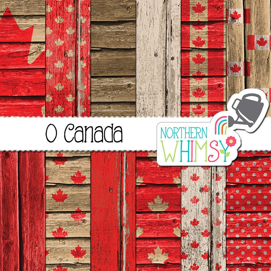 Scrapbook paper canada - This Is A Digital File