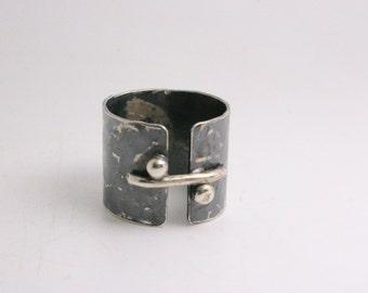 Sterling Silver Ring - Handmade - Trendy