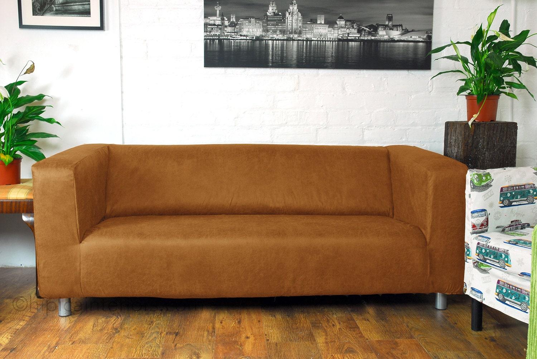 Ikea Klippan 4 Seat Sofa cover in Distressed leather look