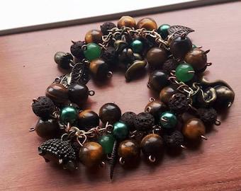OROME - Silmarillion inspired charm bracelet- Valars