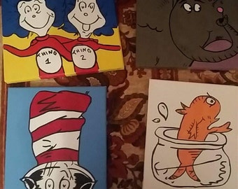 Dr Suess painting